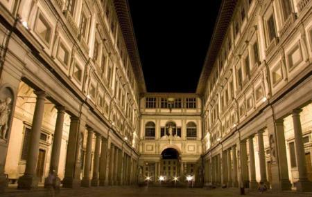 The Galleria Degli Uffizi Image
