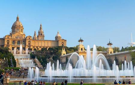 The Magic Fountain At Montjuic Image