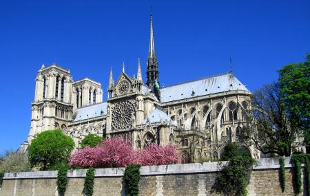 Towers Of Notre Dame Cathedral, Paris