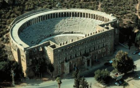 Ancient City Of Aspendos Image