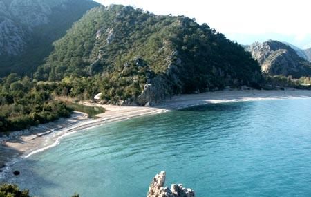 Ancient City Of Olympos Image