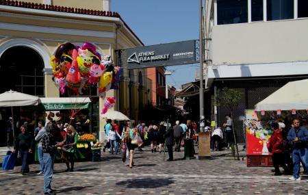 Monastriraki Flea Market Image