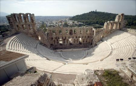 Odeon Of Herodes Atticus Image