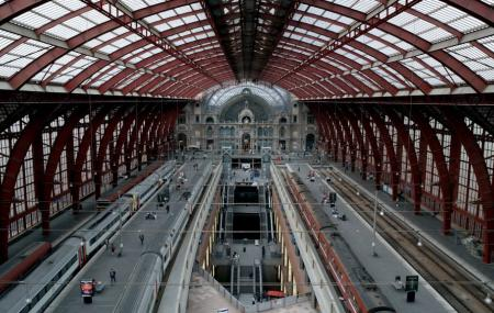 Antwerp Central Station Image