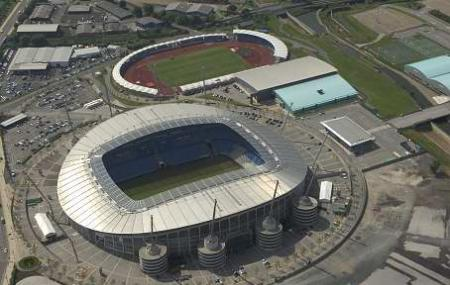 City Of Manchester Stadium Or Etihad Stadium Image