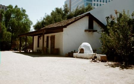 The Peralta Adobe Image