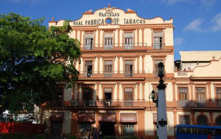 The Partagas Cigar Factory Or Fabrica De Tabaco Partagas Image