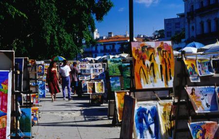 Plaza De La Catedral Artisan Market Image