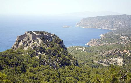 Castle Of Monolithos Image