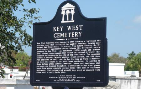 Key West Cemetery Image