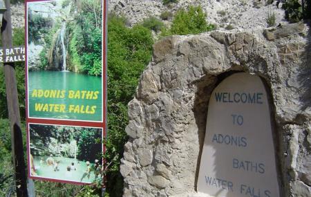 Adonis Baths Water Falls Image