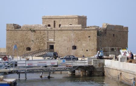 Paphos Harbour Castle Image