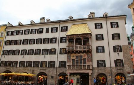 Goldenes Dachl And Museum, The Golden Roof Image