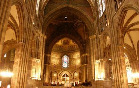 Cathedrale Notre Dame De Strasbourg Image