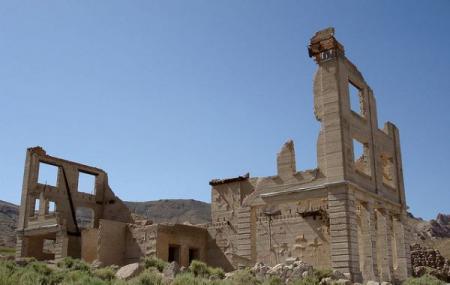 Rhyolite Ghost Town Image