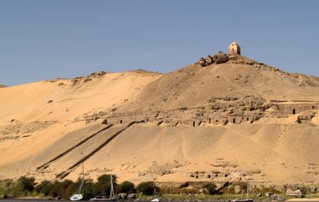 Tombs Of The Nobles And Kubbet Al-hawa Image