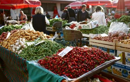 Dolac Farmer Market Image