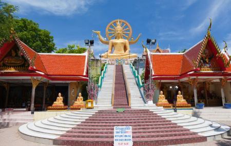 Wat Phra Yai Or The Big Buddha Temple Image