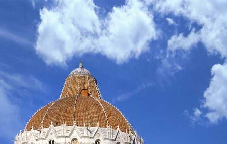 Pisa Baptistry Image