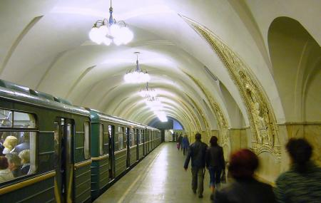 Mayakovskaya Metro Station Image
