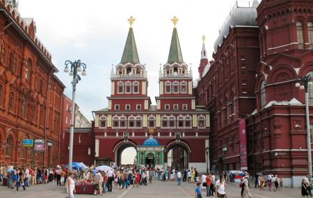 Red Square Image