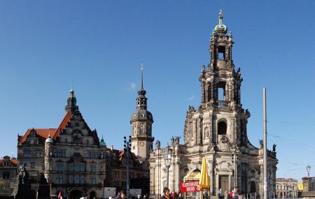 Katholische Hofkirch Dresden Image