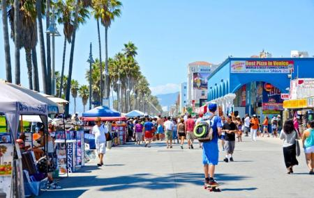 Venice Beach Boardwalk Image
