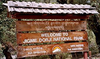 Jigme Dorji National Park Image