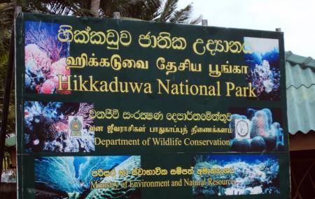 Hikkaduwa National Park Image