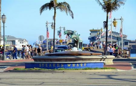 Santa Barbara Waterfront And Stearns Wharf Image