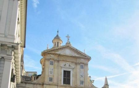 Church Of Jesus And The Saints Ambrogio And Andrea Image