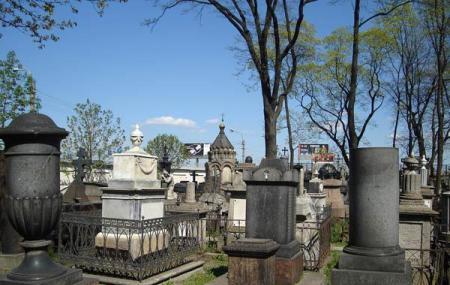 The Lazarus Cemetery Or Alexander Nevsky Lavra Image