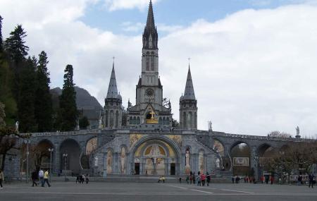 Sanctuairesnotre Dame De Lourdes Image