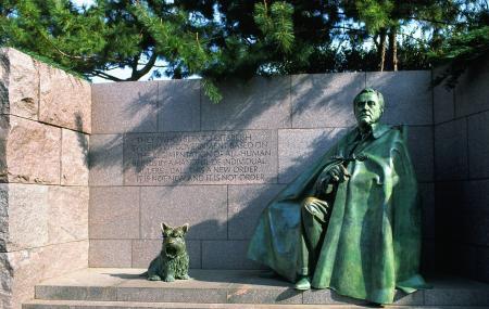 Franklin Delano Roosevelt Memorial Image