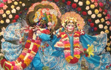 Iskcon Chandigarh Sri Sri Radha Madhav Temple Image