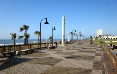 Myrtle Beach Boardwalk And Promenade Image