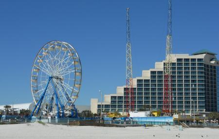 Broad-walk Amusement Area And Pier Image