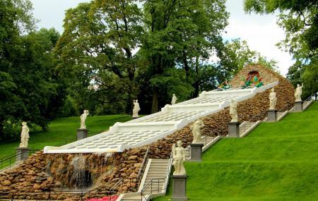 Peterhof State Museum Preserve Or The Bath Block Image