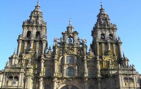 Cathedral Of Santiago Of Compostela Or Catedral De Santiago De Compostela Image