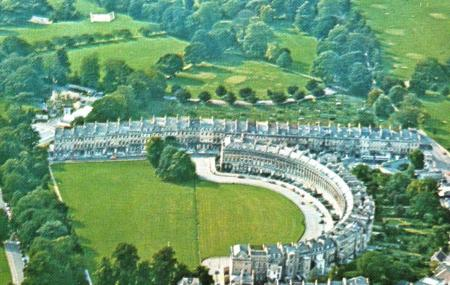 The Circus And The Royal Crescent Image