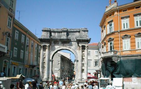 Triumphal Arch Of Sergius Image