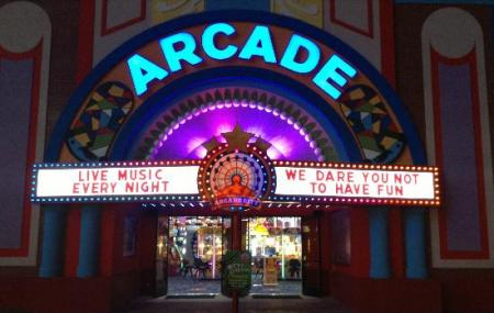 Arcade City At The Island Image