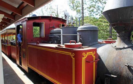 Bally Hooley Steam Railway Image