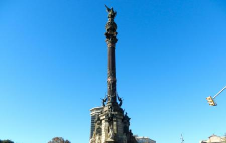 Columbus Monument Image