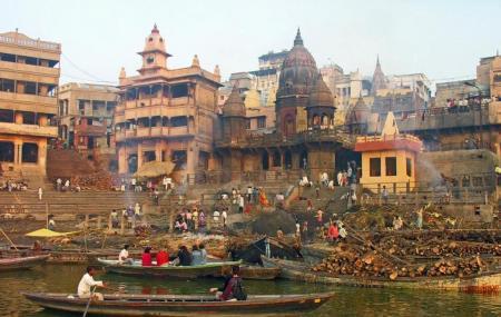Manikarnika Ghat Image