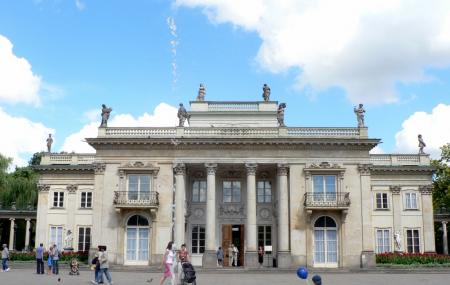 Lazienki Palace Image