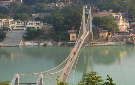 The Ram Jhula Bridge Image