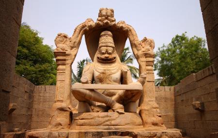 Statue Of Ugra Narasimha Image