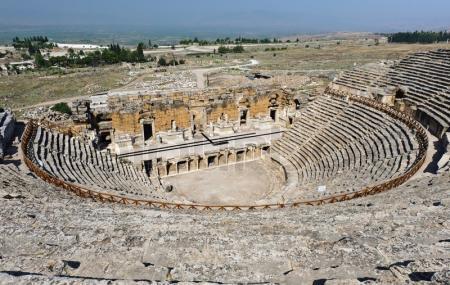 Roman Amphitheatre Of Hierapolis Image