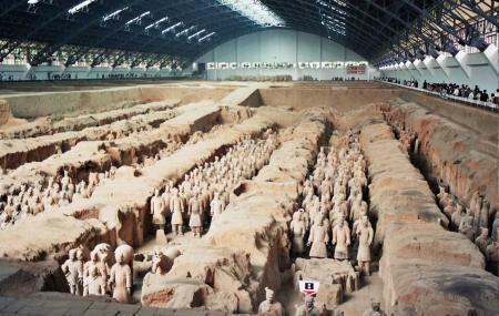 Emperor Qin Shi Huang's Mausoleum Site Park Image